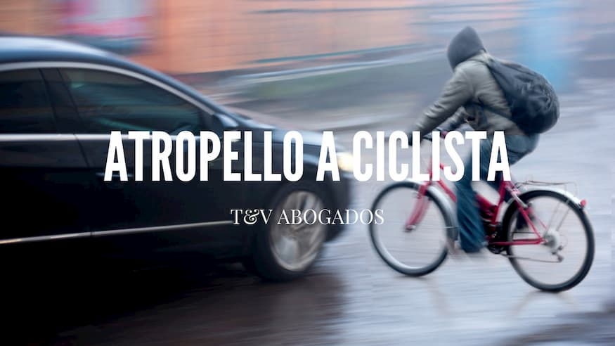 Abogado atropello a ciclista