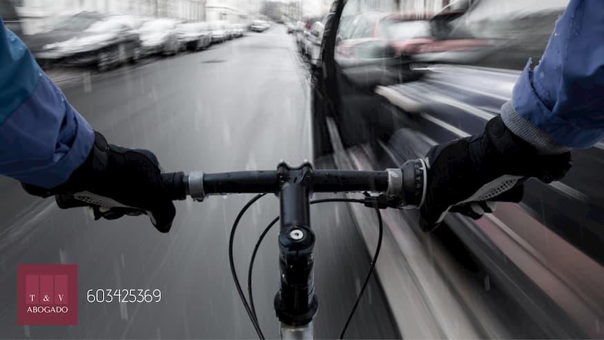 indemnización accidente bicicleta