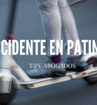 Atropello patinete eléctrico
