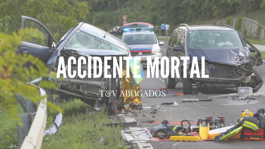 Abogado accidente tráfico mortal