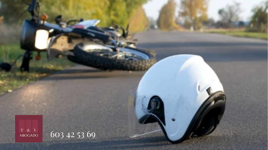 Indemnización por accidente moto