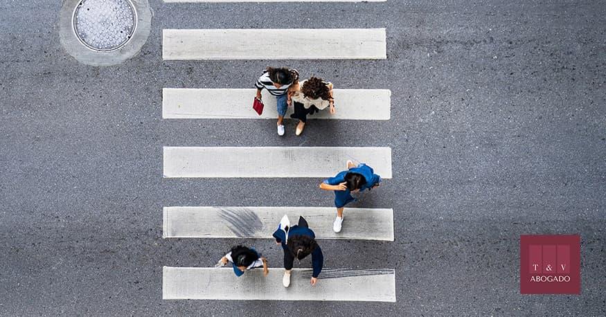 indemnización por atropello en paso de peatones con lesiones